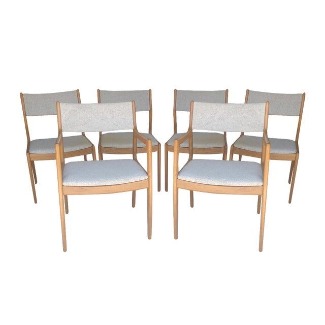 D-Scan Vintage Teak Dining Chairs - Set of 6 - Image 1 of 9
