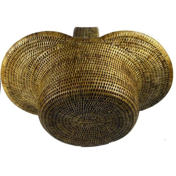Burmese Hand Woven Hat Basket - Image 8 of 10