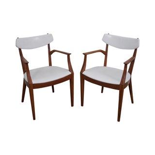Drexel Suncoast Kipp Stewart Arm Chairs - Pair