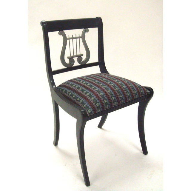 Mid-Century Harp Back Dining Chairs - Set of 3 - Image 6 of 8