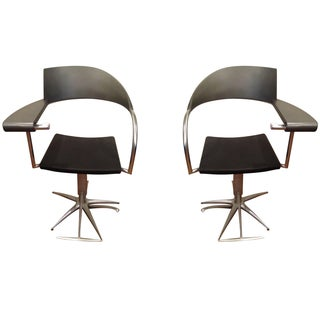 Phlippe Starck 1980s Hairdressers Chairs - A Pair