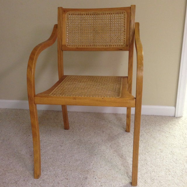 Thonet Style Bentwood & Cane Arm Chair - Image 2 of 5