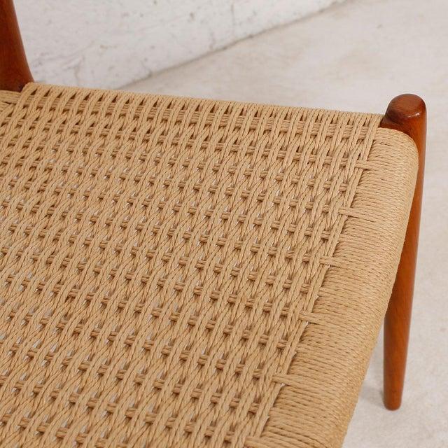 Danish Modern Teak Niels Moller #79 Chairs - S/6 - Image 6 of 7