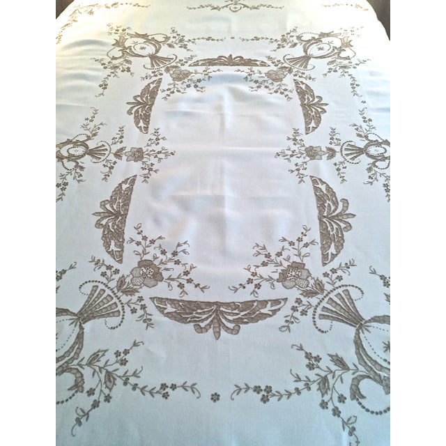 Handmade Italian Linen Tablecloth 12 Napkins Chairish