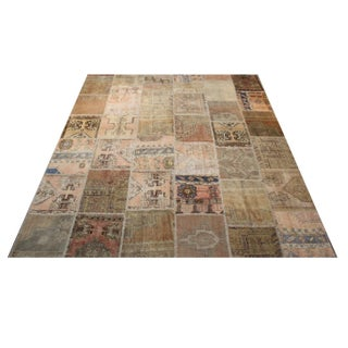 Turkish Anatolian Patchwork Rug - 8′ × 9′8″