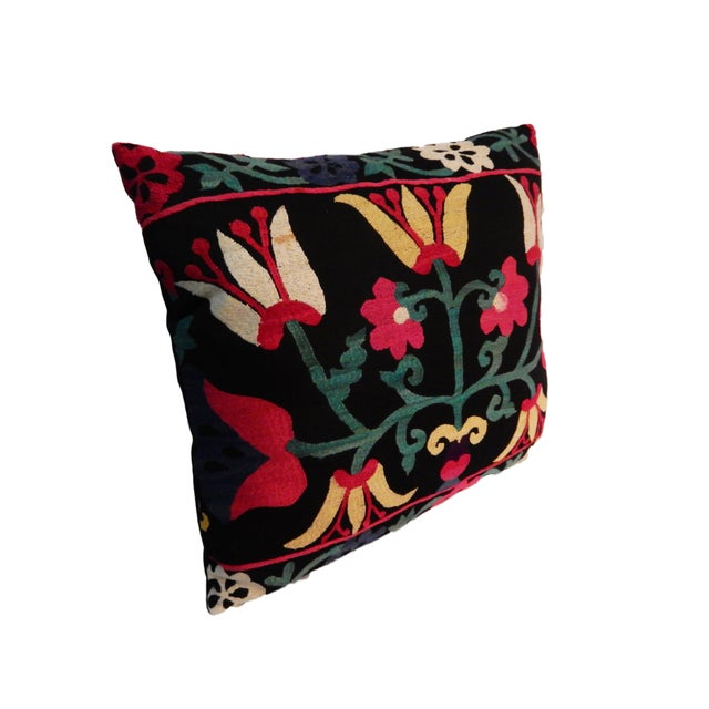 Old Suzani Lg Pillow - Image 5 of 8