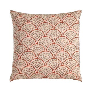 John Robshaw Laal Coral Pillow
