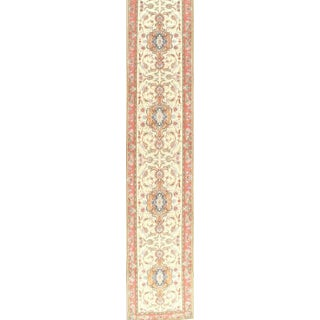 """Pasargad NY Persian Tabriz Taba Design Hand-Knotted Area Rug - 3' x 17'1"""""""