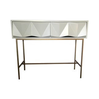 West Elm Sculpted Geo Console