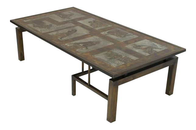 Philip And Kelvin LaVerne Medici Coffee Table