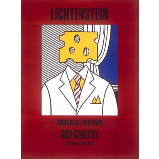 """Surrealist Paintings (Cheese Head)"" by Roy Lichtenstein"