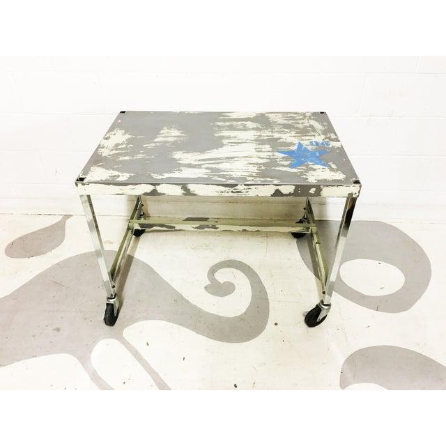 Image of Industrial Metal Table