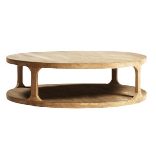 Reclaimed Elm Wood Coffee Table