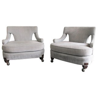 Billy Haines Style Vintage Lounge Chairs - A Pair