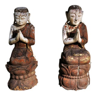 Southeast Asian Figural Carving