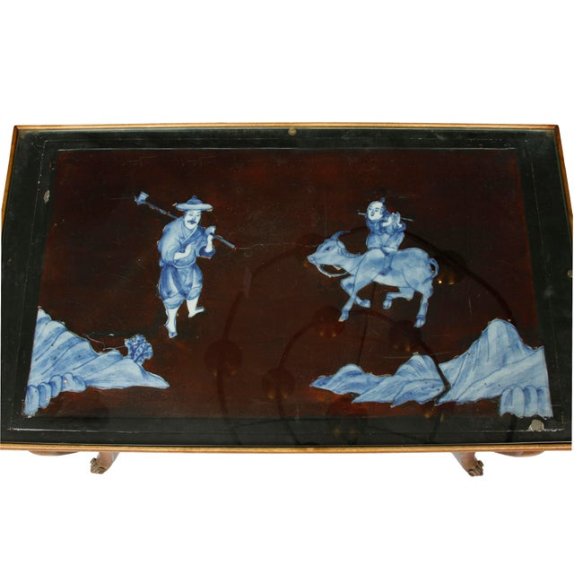 French Chinoiserie Fruitwood Tables - A Pair - Image 2 of 2