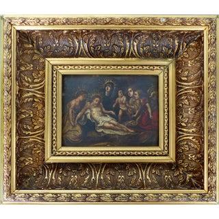 Ecclesiastic Oil Painting