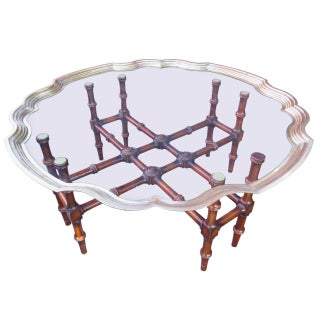 Hollywood Regency Coffee Table by McGuire