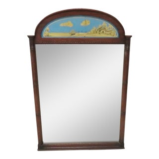 Empire Style Trumeau Mirror