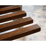 Image of Modern Wood Slat Coffee Table