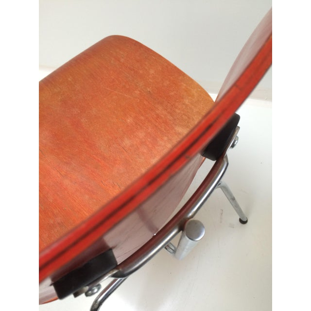 Herman Miller DCM Chair Red Aniline - Image 10 of 11