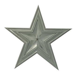 Blue Wooden Barn Star