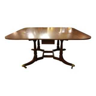 Baker Furniture Colonial Wmsburg Drop Leaf Dining Table/Console