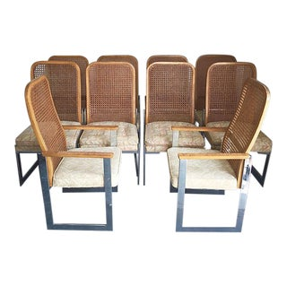 1970's Lane Dining Chairs - Set of 10