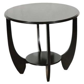 Deco Table in Black Lacquer