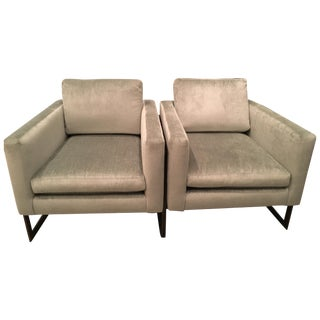 Lee Industries 'Canal' Chairs  - Pair