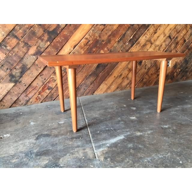 Image of Hand Made Mid-Century Style Coffee Table