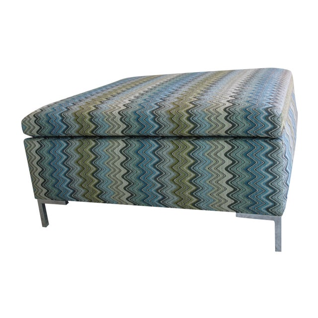 fabric covered ottoman custom missoni fabric covered ottoman chairish 15178 | 5bca1d89 90fb 4c80 b650 653f490f9c47?aspect=fit&width=640&height=640