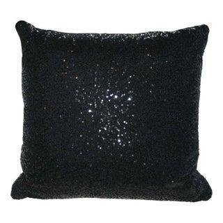 Black Sequin Pillow