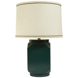 Martin and Brockett Modern Matte Lacquer Lamp