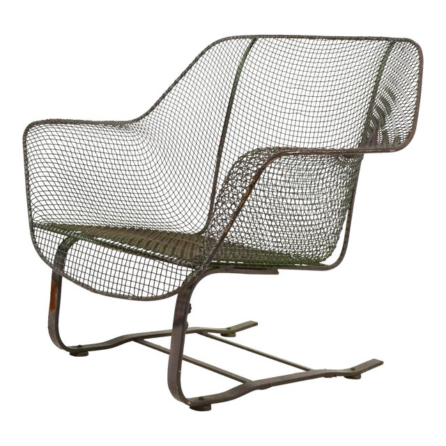 Woodard Sculptura Large Cantilevered Lounge Chair - Image 1 of 7