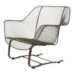 Image of Woodard Sculptura Large Cantilevered Lounge Chair
