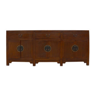 Chinese Brown Stain Sideboard