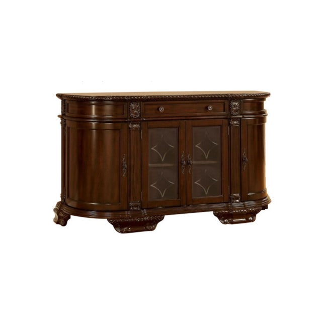 Bellagio Brown Cherry Finish Server Buffet Cabinet - Image 9 of 11