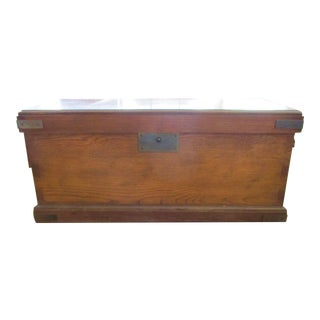 Lane Cedar Brass Blanket Chest