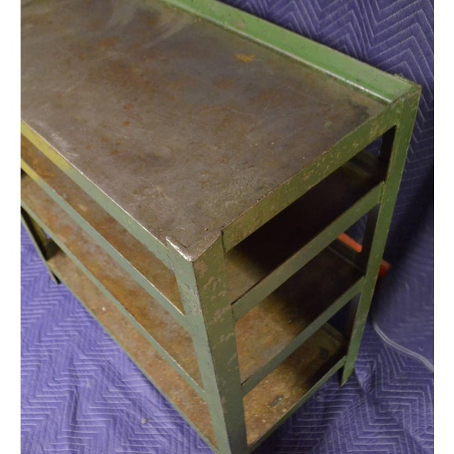 Industrial Steel Cart with Four Shelves - Image 6 of 8