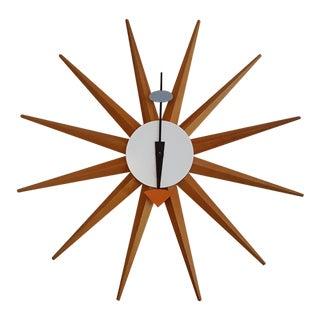 Vintage George Nelson Starburst Clock