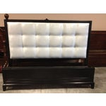 Image of Queen Contemporary Tufted Headboard Park Ave. Bed