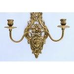 Image of 2-Arm Art Nouveau Candle Wall Sconce
