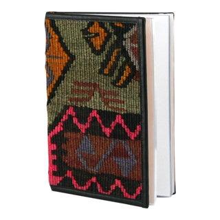 Kilim Journal | Kilim Diary in Fuschia, Celedon Green, Lavender and Mustard Yellow