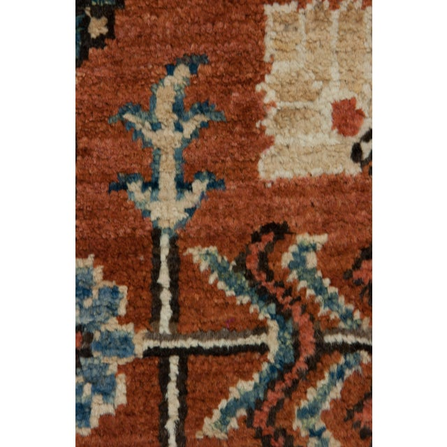 "New Serapi Hand Knotted Runner - 2'9"" x 9'9"" - Image 3 of 3"