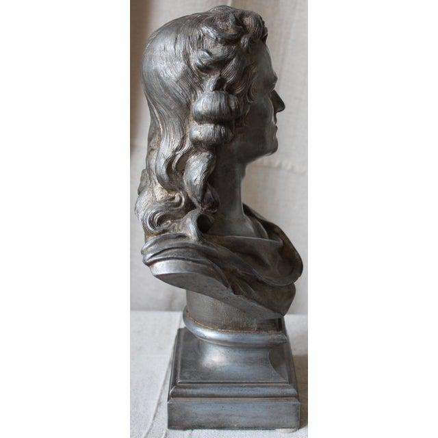 Image of Spelter Bust of Schiller