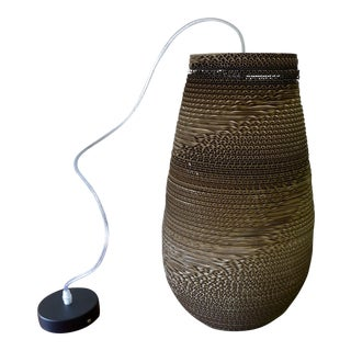 Modern Recyled Cardboard Pendant Lamp