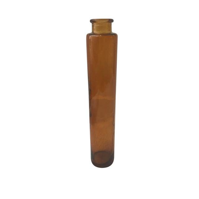 Orange Glass Vase - Image 1 of 4