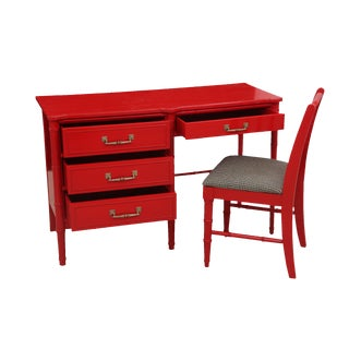 Henry Link Chinoiserie Desk & Chair