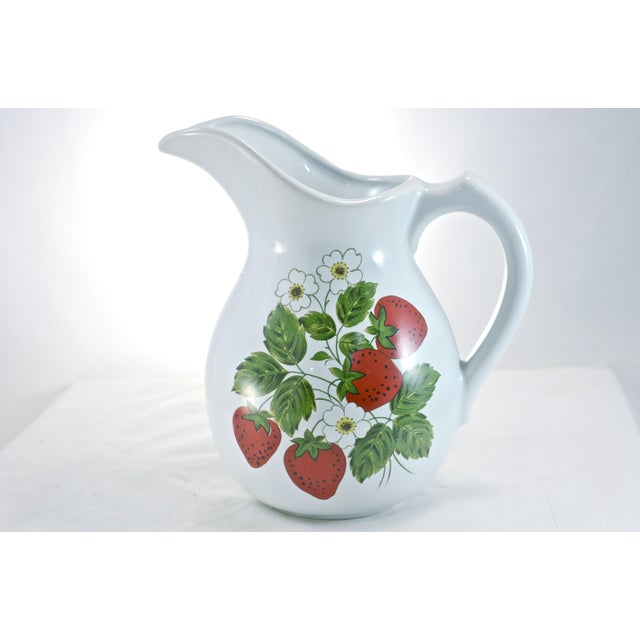 Image of McCoy Strawberry Farmhouse Vase